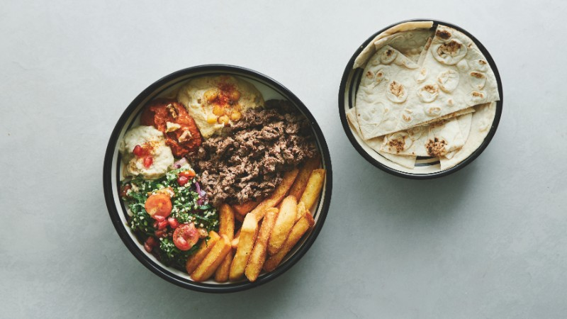 Shawarma bowl
